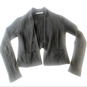 Alexander Wang Black Fitted Cardigan